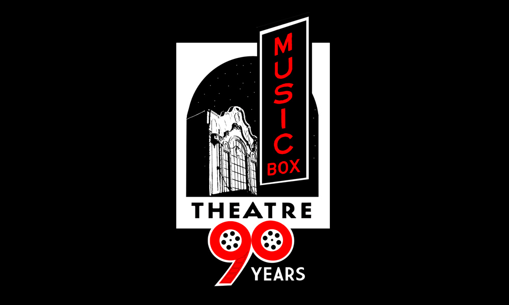 Music Box Theatre 90-years emblem.