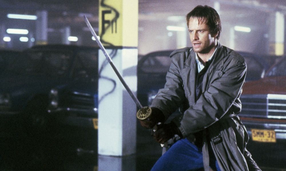 Movie still from Highlander