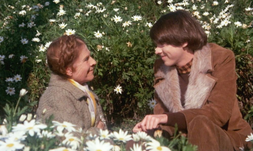 Movie Still from Harold and Maude