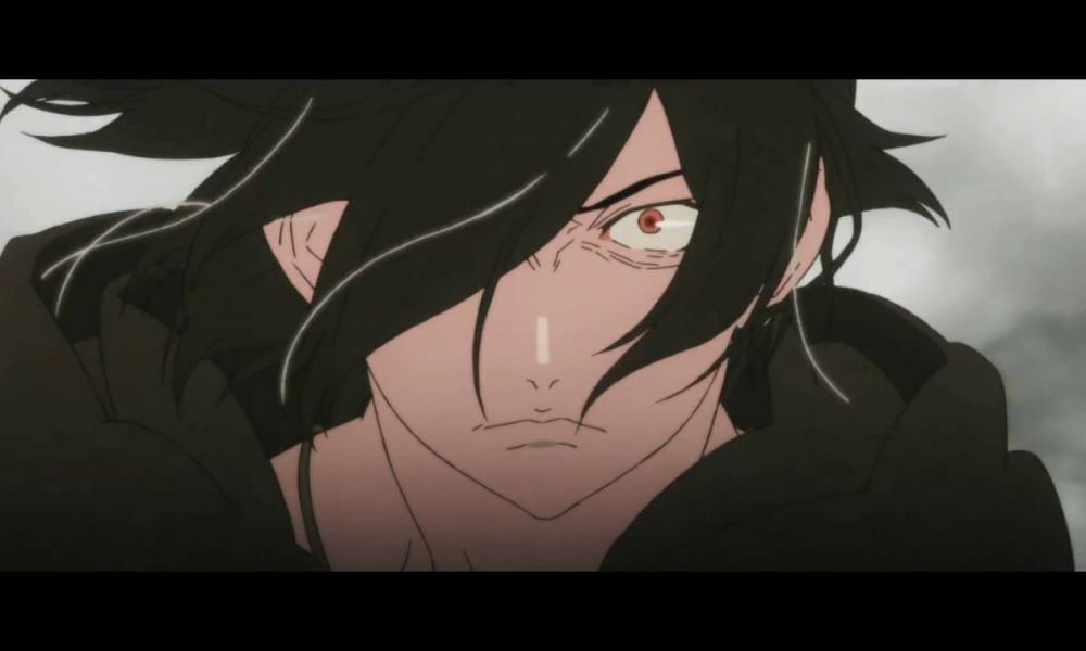 Movie still from Kizumonogatari Part 2: Nekketsu