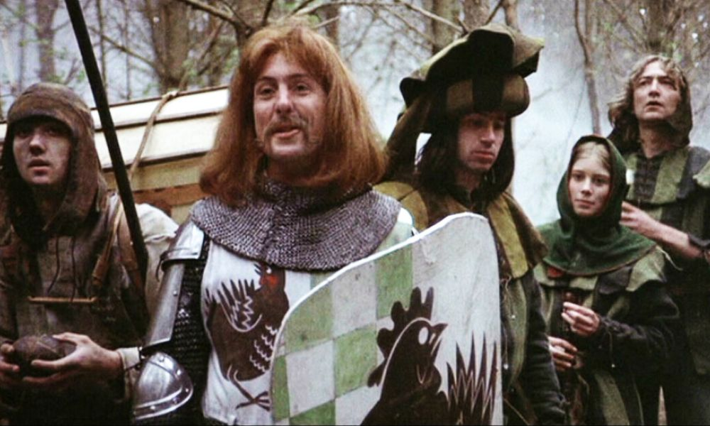 Movie Still from Monty Python and the Holy Grail