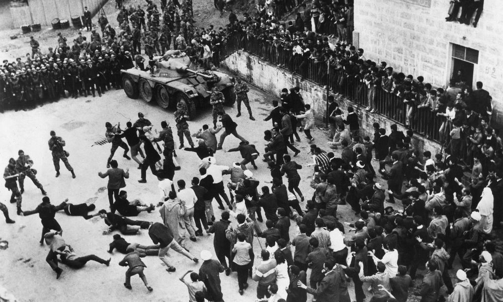Still from Battle of Algiers 1