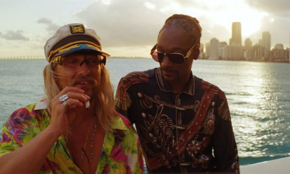 Matthew McConaughey and Snoop Dogg in The Beach Bum