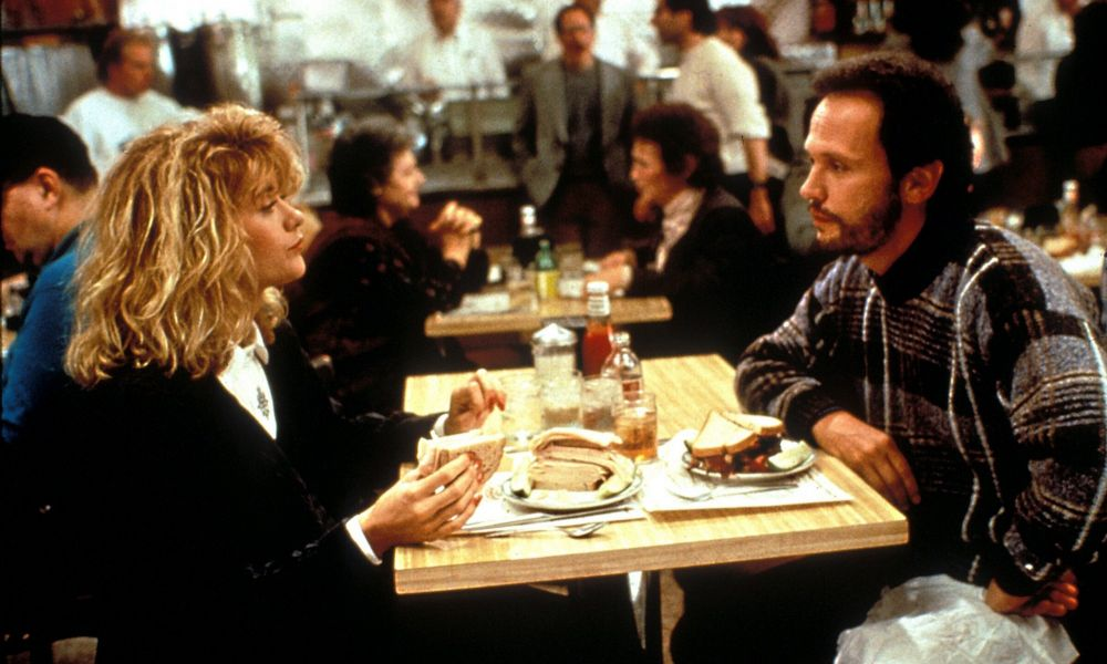 when harry met sally music box theatre. Black Bedroom Furniture Sets. Home Design Ideas