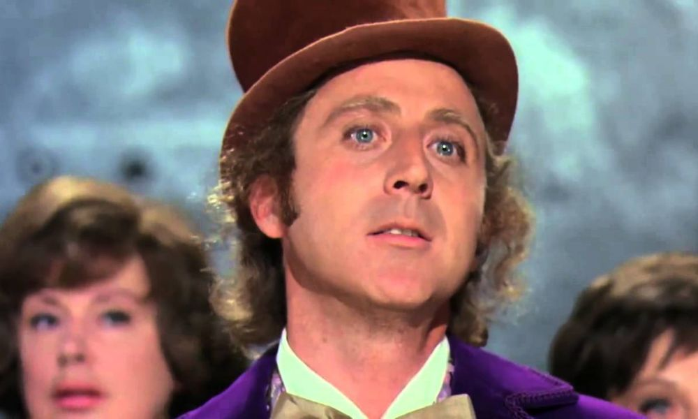 Movie Still from Willy Wonka and the Chocolate Factory
