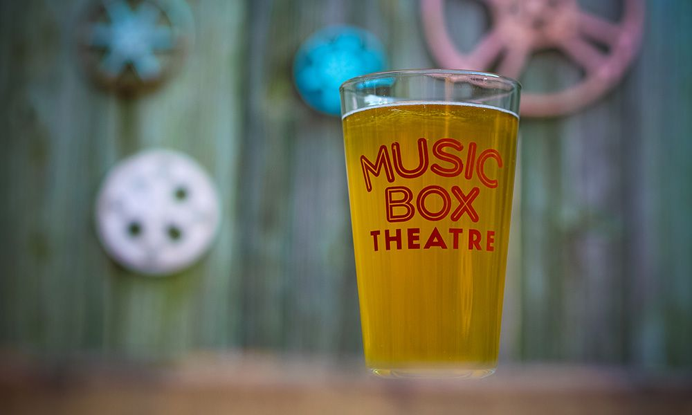 Music Box Theatre Pint Glass