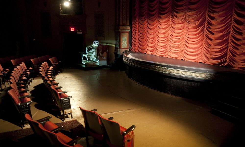 Music Box Theatre Red Curtain
