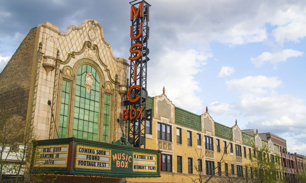 Photo of the Music Box Theatre